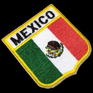Bandeira México patch bordado BEIN019