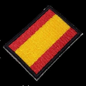 Bandeira Espanha P/ Camisa Real Madri BIN216