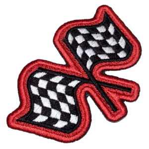 Bandeiras Racing Kart CAR047 Patch Bordado