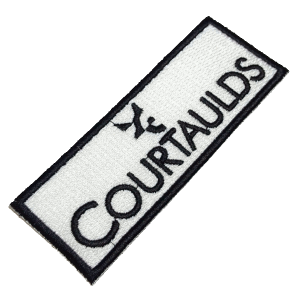 Courtaulds LOG345 Patch Bordado Macacão Airton Senna F-1