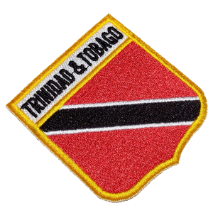 Bandeira Trinidad and Tobago BEIN060 Patch Bordado Uniforme