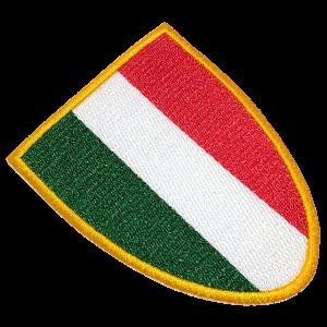Escudo Bandeira Futebol Itália TIIT034 Patch Bordado Camisa