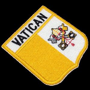 Bandeira Vaticano BEIN048 Patch Bordado para Uniforme Camisa