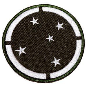 Emblema Militar Brasil EML081 Patch Bordado Para Uniforme