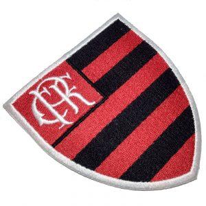 Escudo Futebol Brasil RJ TRJ024 Patch Bordado Para Camisa