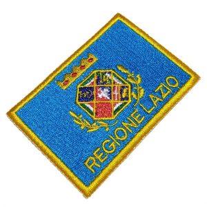 Bandeira Regione Lazio Italia BIN227 Patch Bordado Uniforme