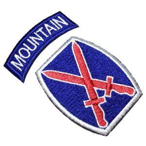 Emblema Militar 2 Guerra EML058 Patch Bordado Para Uniforme