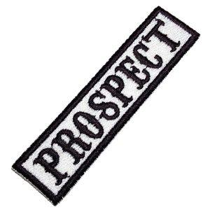 Prospect Moto Clube NT0518T Patch Bordado Para Colete