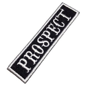 Prospect NT0529T Patch Bordado Título Para Colete Moto Clube
