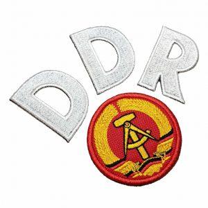 Escudo Futebol DDR Alemanha 1974 Patch Bordado Para Camisa