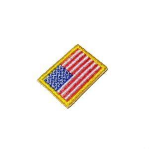 Bandeira EUA Estados Unidos da América Patch Bordado