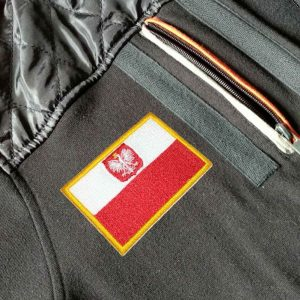 Bandeira Polônia Patch Bordado Para Uniforme Camisa Mochila