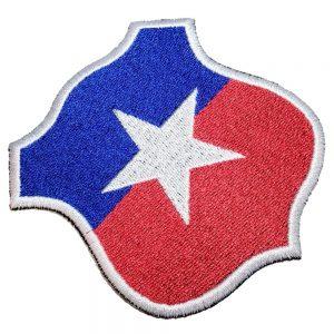 Escudo Futebol Chile Patch Bordado Para Camisa Calção Calça