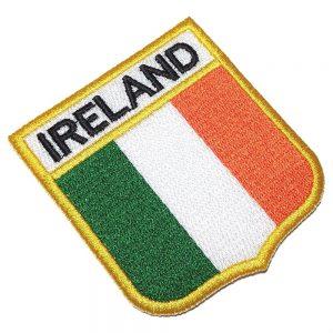 Bandeira Irlanda Patch Bordado Para Uniforme Camisa Mochila