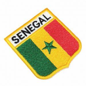Bandeira Senegal Patch Bordado Para Uniforme Camisa Mochila