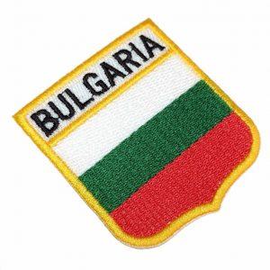 Bandeira Bulgaria Patch Bordado Para Uniforme Camisa Mochila