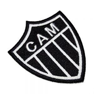 Escudo Futebol Brasil MG Patch Bordado Para Camisa Calção