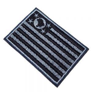 Bandeira São Paulo Brasil Patch Bordado Para Uniforme Camisa