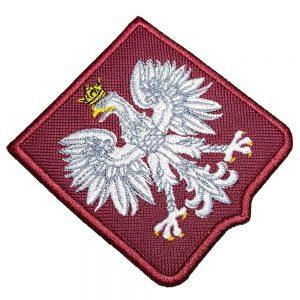 Escudo Futebol Polônia Patch Bordado Para Camisa Jaqueta