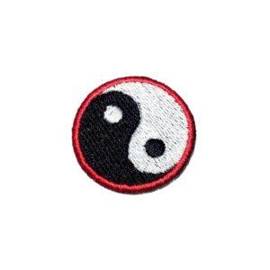 Wing Chun Kung Fu Yin Yang Patch Bordado Para Faixa Kimono