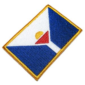 Bandeira São Martinho Patch Bordado Para Uniforme Camisa