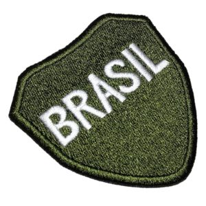 Distintivo FEB 2ª Guerra Mundial Patch Bordado Para Uniforme