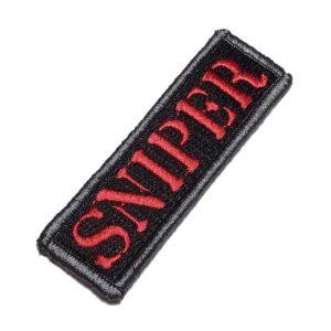 Sniper Patch Bordado Para Boné Uniforme Jaqueta Camisa Roupa