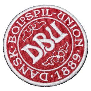 Escudo Futebol Dinamarca Patch Bordado Para Camisa Jaqueta