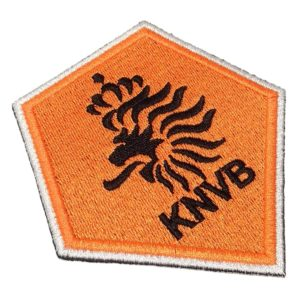Escudo Futebol Holanda Patch Bordado Para Camisa Jaqueta