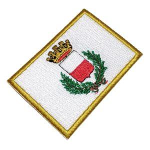 Bandeira Lucca Itália Patch Bordado Para Uniforme Camisa