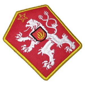 Brasão Checoslováquia Antigo Escudo Futebol Patch Bordado