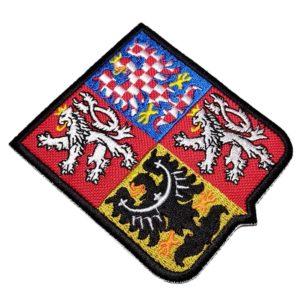 Escudo Brasão Tchéquia República Checa Patch Bordado