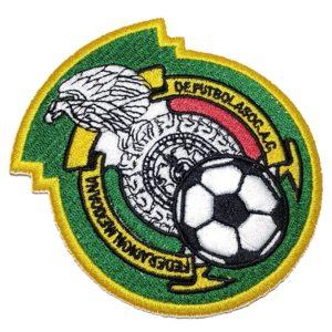 Brasão México Escudo Futebol Patch Bordado Para Camisa Calça