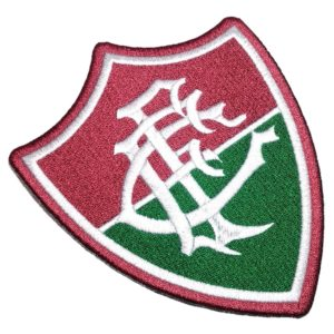 Escudo Futebol Brasil TRJ074 Patch Bordado Para Camisa