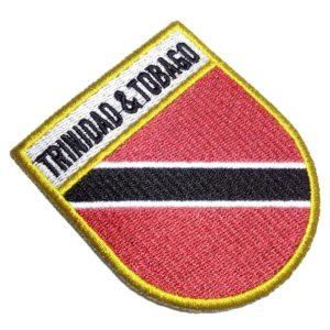 Bandeira País Trinidad e Tobago Patch Bordado Para Roupas