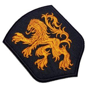 Escudo Brasão Holanda Patch Bordado Para Camisa Jaqueta Boné