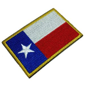 Bandeira Texas EUA Patch Bordado Para Uniforme Camisa Kimono