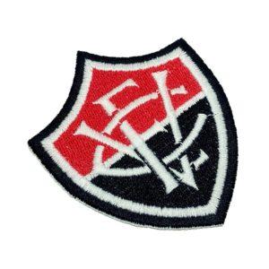 Escudo Futebol Bahia Brasil Patch Bordado Para Camisa Boné