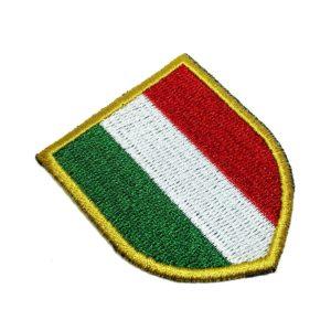 Escudo Brasão Itália Patch Bordado Para Camisa Jaqueta Boné