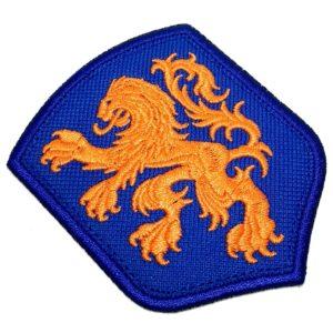 Escudo Brasão Países Baixos Patch Bordado Para Camisa Roupa