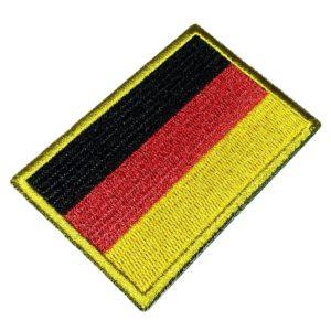Bandeira Alemanha Patch Bordado Para Uniforme Camisa Kimono