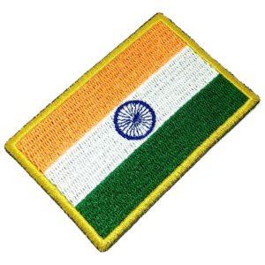 Bandeira Índia Patch Bordado Para Uniforme Camisa Kimono
