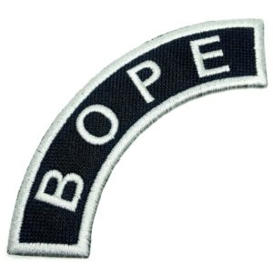 Operações Especiais Patch Bordado para Uniforme Camisa Boné