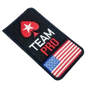 Bandeira EUA Poker Patch Bordado Para Camisa Jaqueta Calça
