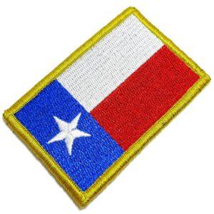 Bandeira Estado Texas EUA Patch Bordada Fecho Contato