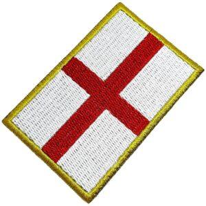 Bandeira País Inglaterra Patch Bordada Termo Adesivo