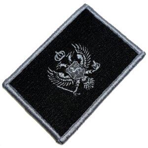 Bandeira País Montenegro Patch Bordada Fecho de Contato Gancho