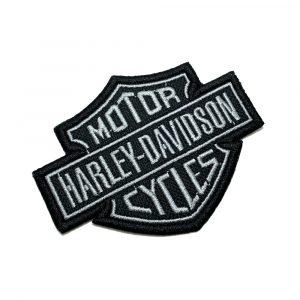 MOT015T 02 Harley Davidson Brasil Patch Bordado Termo Adesivo